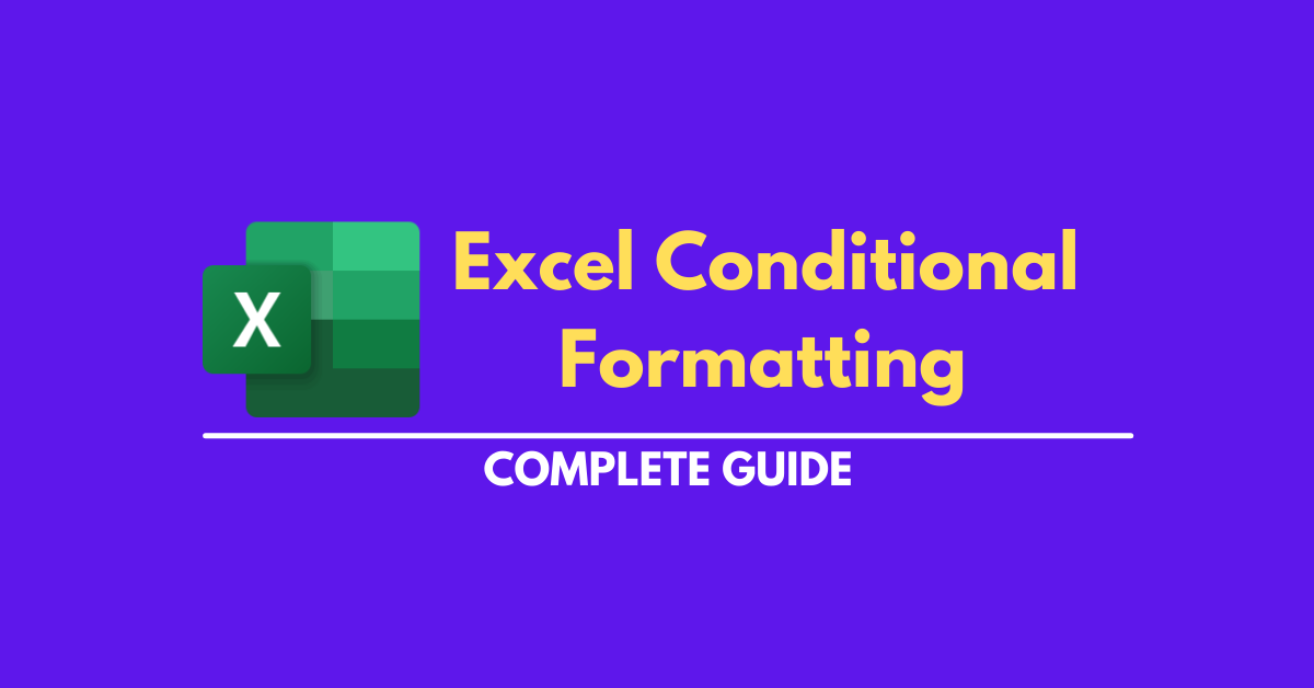 Excel Conditional Formatting with all tricks and tips for all excel versions 2007 to 2013 that you nobody know.